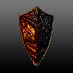 Dark Suls 2 Shield by c3rmal