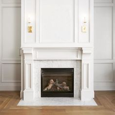 Fireplace Surrounds Marble Surround Fireplaces Wainscoting Carrara