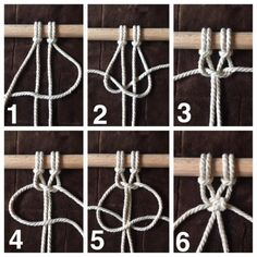 Macrame Materials – Whatever You Need To Get Rolling! Macrame Design, Macrame Art, Macrame Projects, Macrame Knots, How To Macrame, Macrame Square Knot, Macrame Modern, Crochet Projects, Sewing Projects