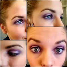 Makeup make over Make Me Up, How To Make, Circus Clown, Some Girls, You Look Like, Blue Eyes, Stylists, Things To Come, Purple