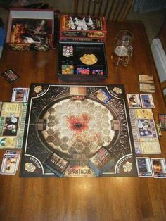Blood & Sand board game we'll be playing at SPARTACON