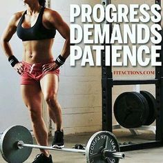Yes it takes #patience and it pays off  .  Transform you upper body. Tap link in my bio  .  👉http://amzn.to/2yhX1ca