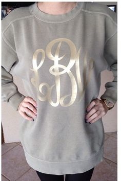 SALE Monogrammed Womens Stone Gold Comfort by YounInkBoutique