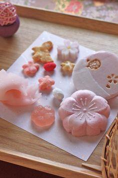 「桜尽くしレッスン」でお出しした主役のお菓子は・・・ の画像|Lilyのお茶時間