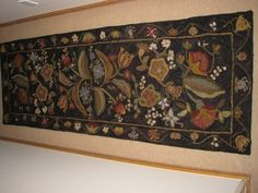 Antique Floral Runner 32 X 92 inches FAMILY COLLECTION