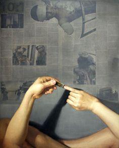 Juxtapoz Magazine - Reader Art: Shin-Young An | oil on mixed media