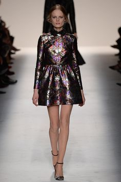Valentino | Fall 2014 Ready-to-Wear Collection | Butterfly Pattern in Beautiful Brocade.