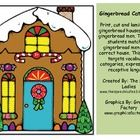 This activity targets vocabulary, categories, expressive and receptive language.Print, cut and laminate gingerbread houses and gingerbread men. Ha...