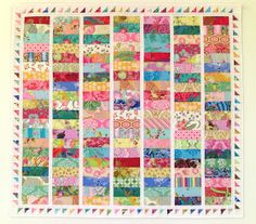 """Here are 2 of my latest quilt top finishes: one shown above , and one shown below . These measure about 47"""" x 47."""" The backings are..."""