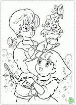 Minky Momo coloring pages, Minky Momo colouring book- DinoKids.org