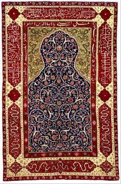NEU-Perser Teppich mit Koran Sprüche Art Perser Orient Farsi Koran Suren