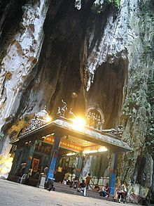 The main temple of Murugan, Batu Caves.