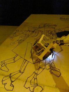 """Mural """"Robot Lema"""""""