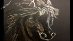 Horse Easy Acrylic painting for beginners, Learn To Paint