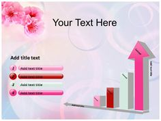 Pink In Nature Powerpoint Templates