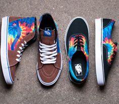 Vans Sk8-Hi and Era-Tie Dye (Summer 2014)