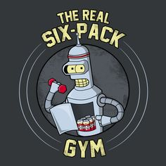 The Real Six-Pack - Exercise Your Right To Party - Neatorama