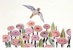 The Observer, Mayuko Fujino Papercut Art