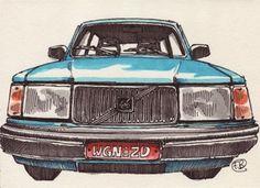 Volvo 240, France Belleville-Van Stone