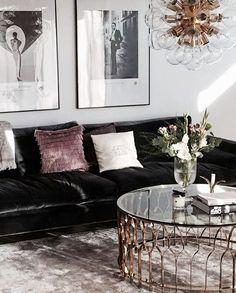 art deco inspired living room - Wohnzimmer im Art-Deco-Stil - Art Deco Living Room, Bohemian Living Rooms, Living Room Colors, Living Room Designs, Room Art, Art Deco Room, Home Interior, Living Room Interior, Home Living Room