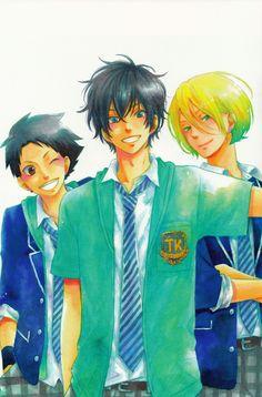 Sasayan, Haru and Kenji