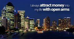 I always attract money :: #affirmations #lawofattraction