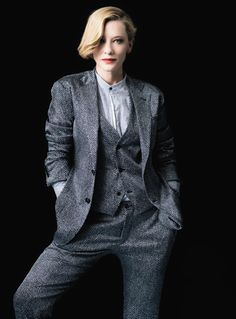 Cate Blanchett photographed by Brigitte Lacombe for Vanity Fair France, June 2014