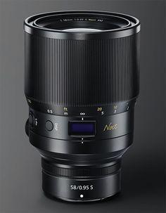 Check out the upcoming Nikon Z Noct Nikkor lens - Photo Rumors Best Nikon Camera, Nikon Digital Camera, Camera Hacks, Camera Nikon, Camera Gear, Camera Equipment, Photo Equipment, Nikon Photography, Photography Tutorials