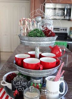 cupcake stand used for displaying cups and candies