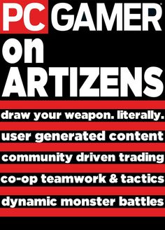Artizens: draw your weapon – literally – in this Kickstarter-backed 2D co-op monster hunting RPG. Click the picture to read the full video game article (and see cool screenshots!) by PC Gamer.