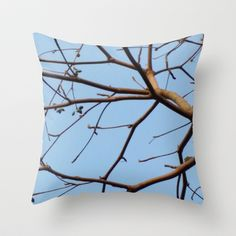 BARE & THERE Throw Pillow by Annie Koh - $20.00