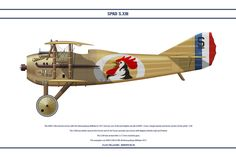 SPAD S.XIII France SPA 48 by WS-Clave.deviantart.com on @DeviantArt