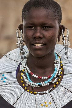 Masai Tribe by jetta.lichtman on Creative Market