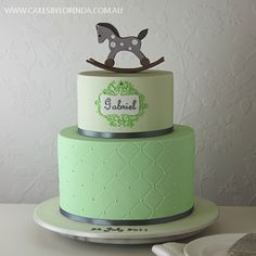very cute and so suitable as a boy cake