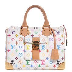 b17ef3d7ffe6 Fashionphile - LOUIS VUITTON Multicolor Speedy 30 White Louis Vuitton  Multicolor