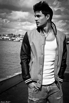 lovingmalemodels: Anthony Gastelier by Elodie Tastet Anthony Gastelier, Looks Style, My Style, Stylish Men, Gorgeous Men, Beautiful Boys, Male Models, Top Models, Gq