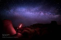Milky Way Star Wars  The Milky Way   We shot this Jedi moment in Joshua Tree.  Yesterday with my buddy @emerictimelapse we went to different locations including the Joshua Tree National Park and we shot some cool time lapse. It was new moon but also a time of the year when the milky way is more visible. We met the very nice @staystillphotography he had a cool Jedi sword and we played around with it to get cool photos.  I watched the original Star Wars over 13 times and I know most of the…