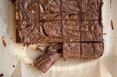 Salted Peanut Butter Caramel Brownies recipe on Food52