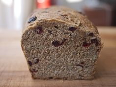 Seed and Berry Honey Whole Wheat Bread