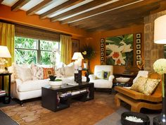 Contemporary Living Rooms from Nathan Fischer : Designers' Portfolio 4960 : Home & Garden Television