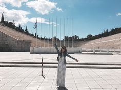 First Olympic Stadium in Athens, Greece