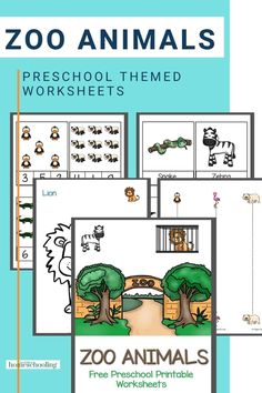 Zebra, Hippo and Crocodiles- how many zoo animals can your preschooler name? Try these free preschool printable worksheets Printable Handwriting Worksheets, Printable Preschool Worksheets, Reading Worksheets, Free Preschool, Free Math, Kindergarten Books, Kindergarten Worksheets, Do A Dot, Crocodiles
