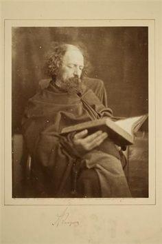 Alfred Lord Tennyson, 1875,  Julia Margaret Cameron