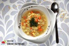 Więcej Niż Zdrowe Odżywianie Zupa jaglana prosta - Zdrowe odżywianie