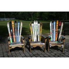 Adirondack Snow Ski Chairs