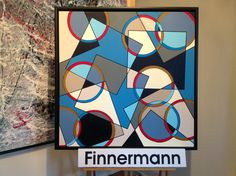 Circle and Square by FINNERMANN. NEW VER. 2,0 80  x  80 cm i Akryl