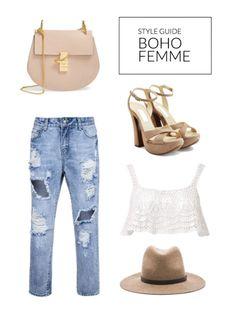 girlie boho femme outfit