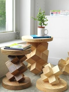 unique furniture 49 easy furniture diy projects for interior design Art Furniture, Diy Furniture Projects, Funky Furniture, Woodworking Projects Diy, Unique Furniture, Wood Projects, Furniture Design, Furniture Stores, Furniture Plans