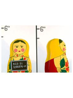 Matryoshka Mug Shot