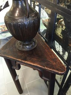 Chinese Triangular Console Table